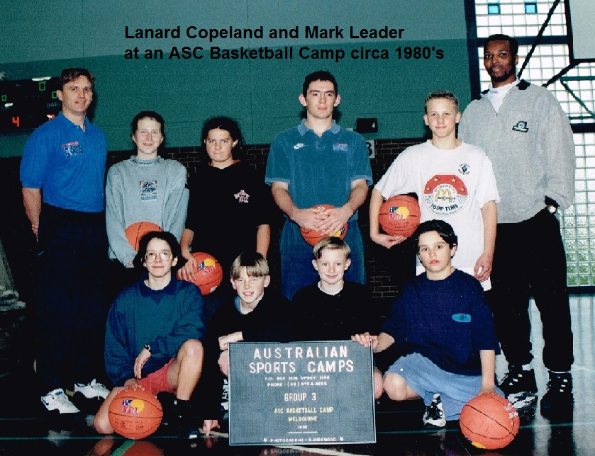 Lanard Copeland and Mark Leader