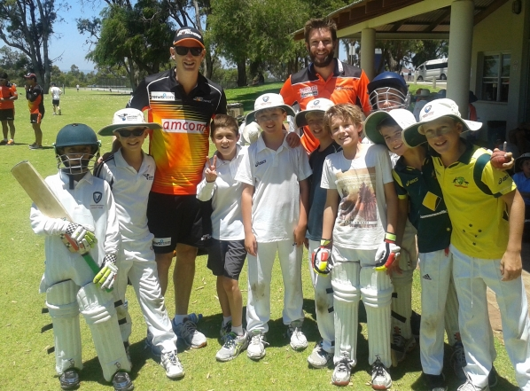 Scorchers at the camp