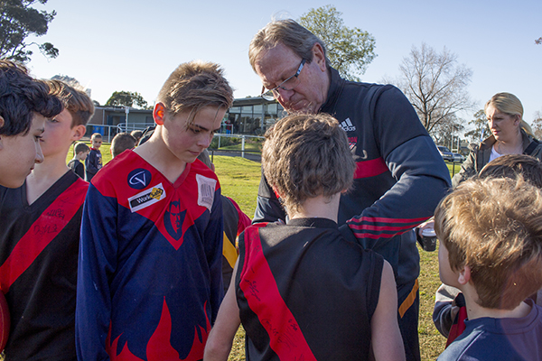 Kevin Sheedy in Parkville