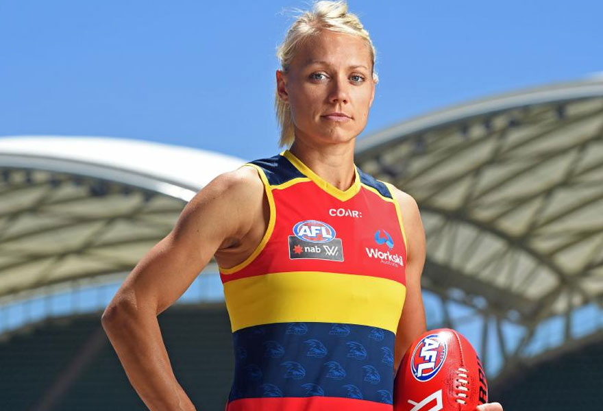 Erin-Phillips-Woman's-AFL-Crows