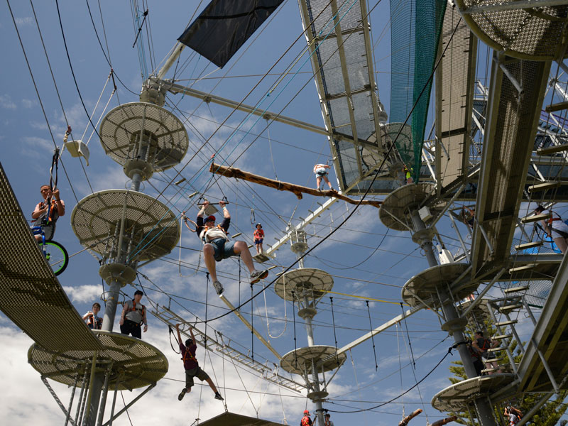 Best School Holiday Activities In Adelaide Mega Adventure Obstacle Park