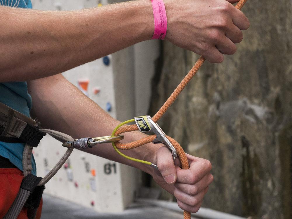 Rock Climbing Essentials for Kids Belay Device