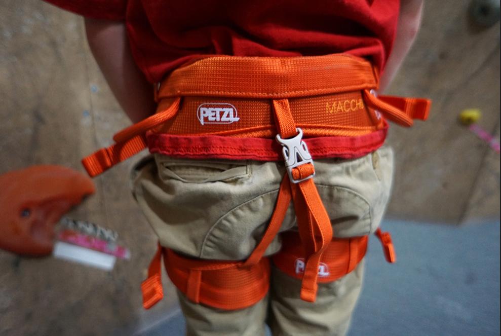 Rock Climbing Essentials for Kids Harness