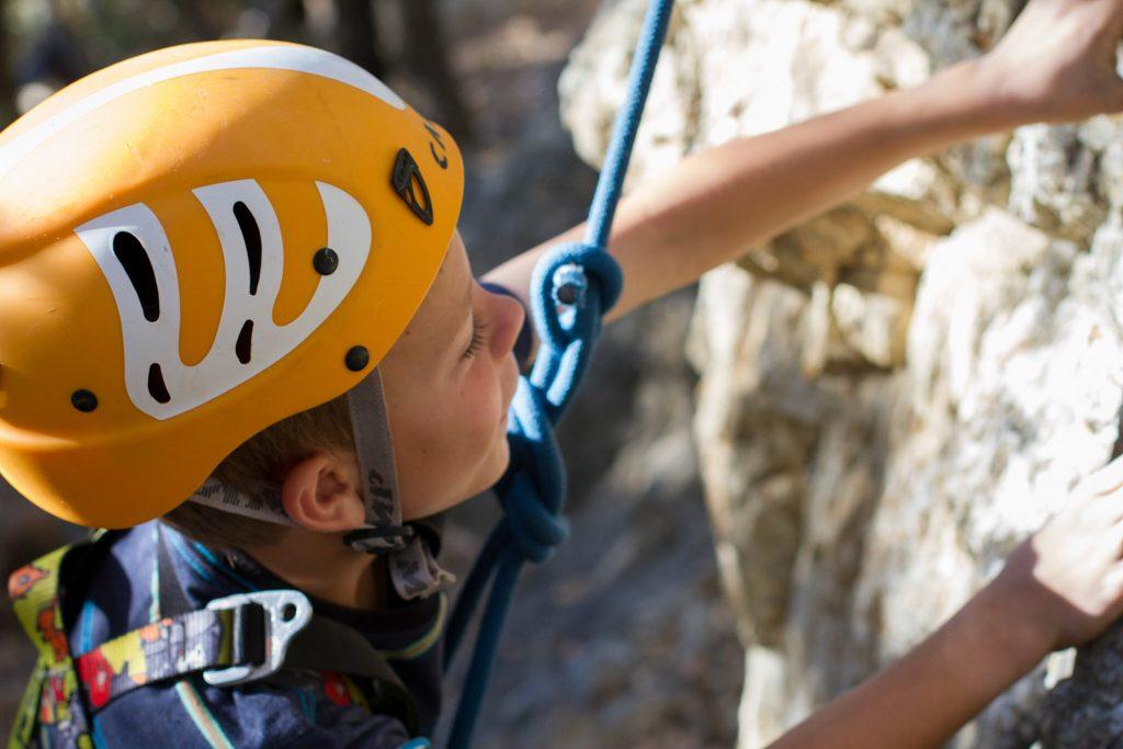 Rock Climbing Essentials for Kids Helmet