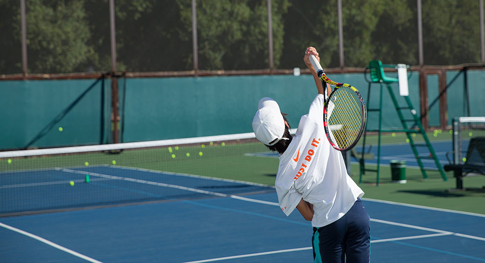 Top Tips For Kids To Improve Your Tennis Game Practice Controlling Your Serve
